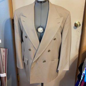 Vintage Bill Blass 40S double Breasted Blazer
